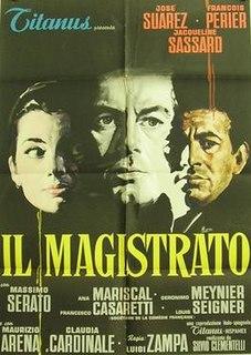 <i>The Magistrate</i> (1959 film) 1959 Italian-Spanish film directed by Luigi Zampa
