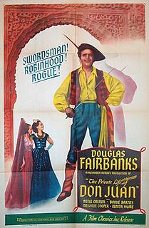 <i>The Private Life of Don Juan</i> 1934 film by Alexander Korda