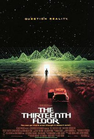The Thirteenth Floor - Theatrical release poster
