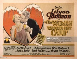<i>The Woman Who Did Not Care</i> 1927 film