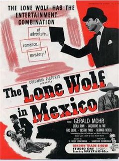 <i>The Lone Wolf in Mexico</i>