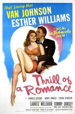 Thrill of a Romance - Theatrical release poster
