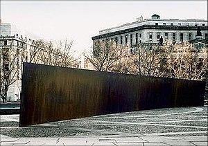 Tilted Arc - Tilted Arc, Richard Serra, 1981