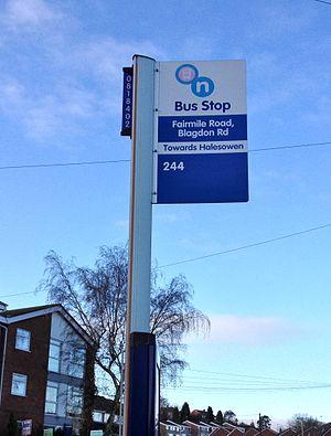Transport for West Midlands - Image: Transport for West Midlands Bus Flag