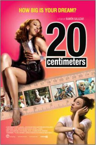 20 Centimeters - Movie poster
