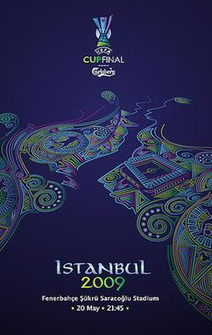 2009 UEFA Cup Final - Image: UEFA Cup Istanbul 2009