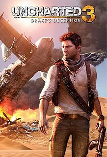 <i>Uncharted 3: Drakes Deception</i> 2011 action-adventure game