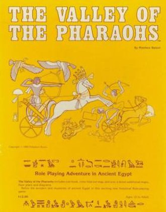 Valley of the Pharaohs - Image: Valleyofthe Pharaohs RPG Cover