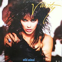 Vanity - Wild Animal Vinyl LP cover.jpeg