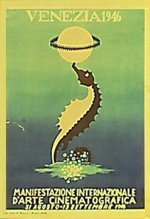 7th Venice International Film Festival (1946) - Festival poster