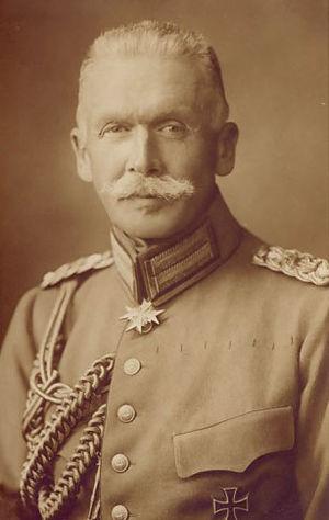 Karl von Plettenberg - Karl Freiherr von Plettenberg during WWI
