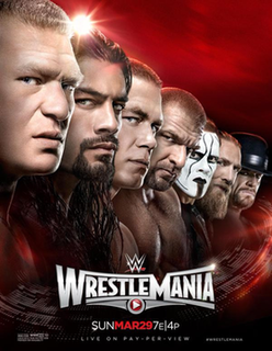 WrestleMania 31 2015 WWE pay-per-view and WWE Network event