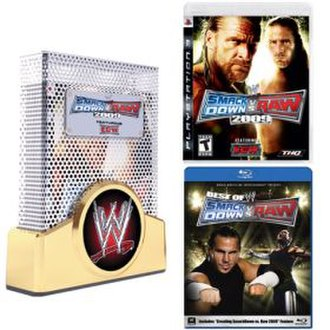 WWE SmackDown vs. Raw 2009 - The contents of the Collector's Edition for the PlayStation 3 in North America.