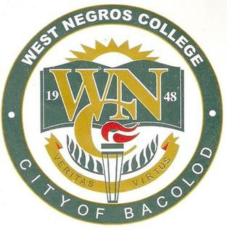 STI West Negros University - Old school seal as West Negros College