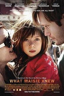 <i>What Maisie Knew</i> (film) 2012 film by David Siegel, Scott McGehee