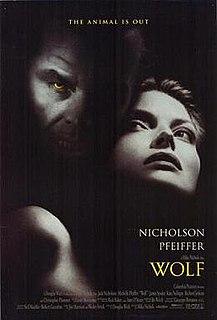 <i>Wolf</i> (1994 film) 1994 American romantic horror film by Mike Nichols