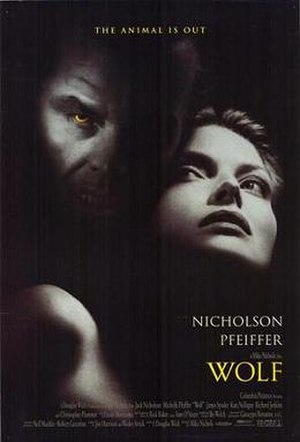 Wolf (1994 film) - Theatrical release poster