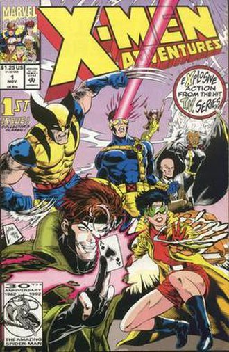 X-Men (TV series) - Image: X men adventures 1