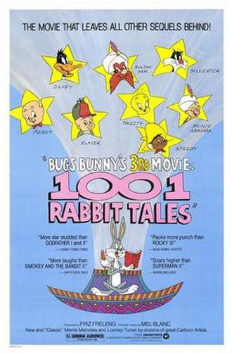 Bugs Bunny's 3rd Movie: 1001 Rabbit Tales - Theatrical poster