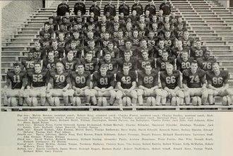 1955 Illinois Fighting Illini football team - Image: 1955 Illinois Fighting Illini football team