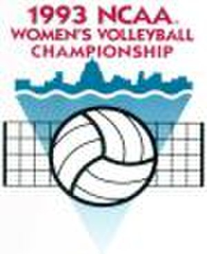 1993 NCAA Division I Women's Volleyball Tournament - 1993 NCAA Final Four logo