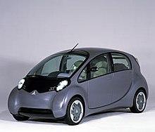 The 2003 Mitsubishi I Concept Debuted Car S Striking Exterior