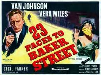23 Paces to Baker Street - Theatrical release lobby card