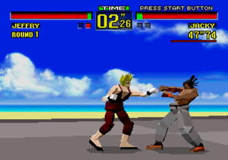 Virtua Fighter - Virtua Fighter on the Sega 32X
