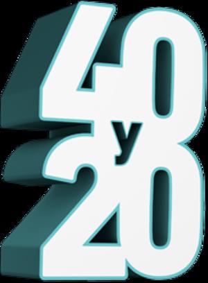 40 y 20 (TV series) - Image: 40y 20showlogo