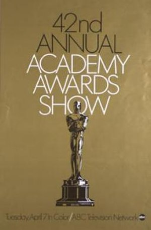 42nd Academy Awards - Image: 42nd Academy Awards