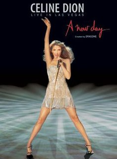 <i>Live in Las Vegas: A New Day...</i> 2007 video by Celine Dion