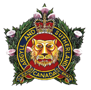 The Argyll and Sutherland Highlanders of Canada (Princess Louise's) - Cap badge of the Argyll and Sutherland Highlanders of Canada