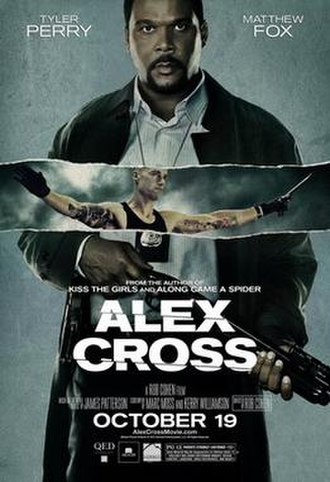 Alex Cross (film) - Theatrical release poster