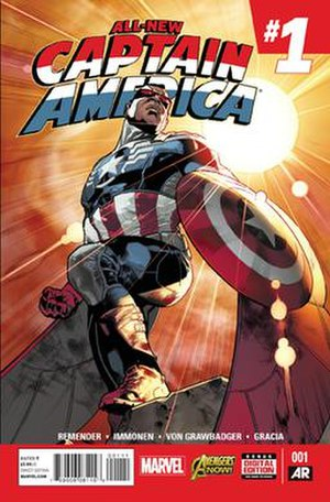 Falcon (comics) - Image: All New Captain America Vol 1 1