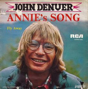 Annie's Song - Image: Annies Song single cover