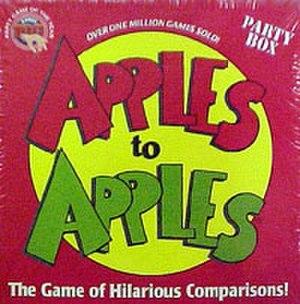 Apples to Apples - Image: Apples to Apples cover