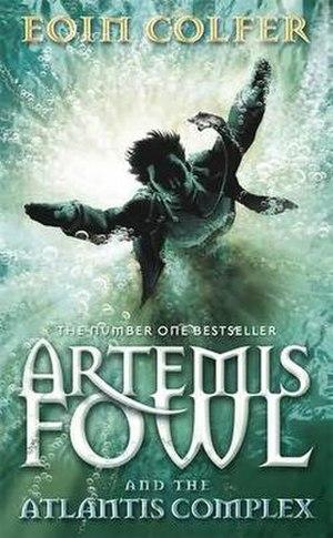 Artemis Fowl: The Atlantis Complex - European cover of Artemis Fowl and the Atlantis Complex.