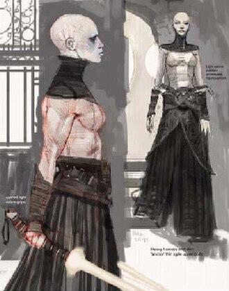 Asajj Ventress - Asajj Ventress's original concept art.