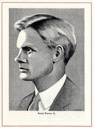 Austin M. Purves Jr. - Image: Austin Purves image from Cooper Union Yearbook 1934