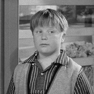 """Larry Mondello Fictional character from television series """"Leave It To Beaver"""""""