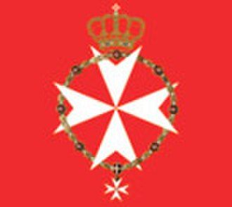 Flag and coat of arms of the Sovereign Military Order of Malta - Image: Bandiera del Gran Maestro SMOM