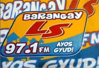DWLS - Barangay LS 97.1 logo (2009-2011)