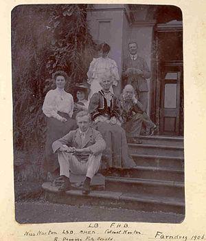 Robert Uniacke-Penrose-Fitzgerald - Barton Family with Sir Robert Uniacke-Penrose-Fitzgerald