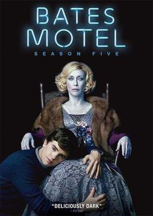 Bates Motel (season 5) - Promotional poster and home media cover art