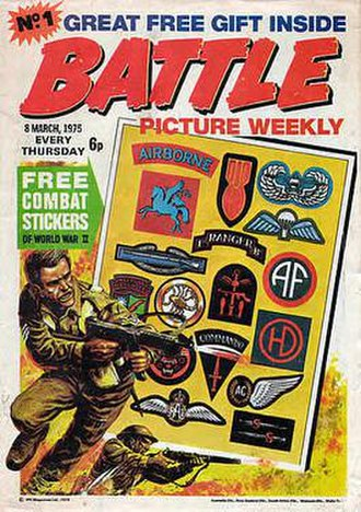 Battle Picture Weekly - Cover to first issue