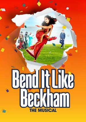 Bend It Like Beckham: The Musical - West End production poster