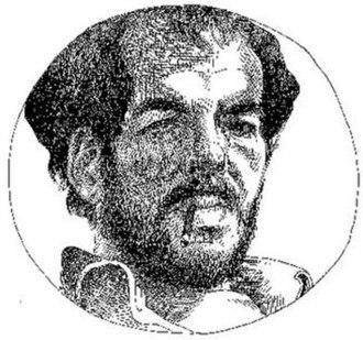 B. Kliban - Self portrait of B. Kliban