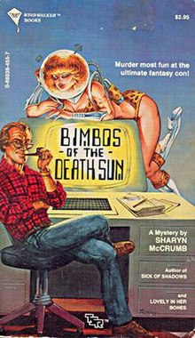 Bimbos of the Death Sun by Sharyn McCrumb - first edition.jpg