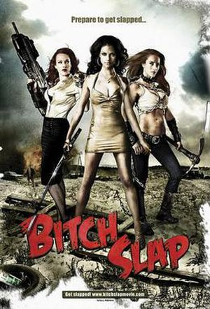 Bitch Slap - Theatrical release poster
