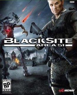 <i>BlackSite: Area 51</i> video game